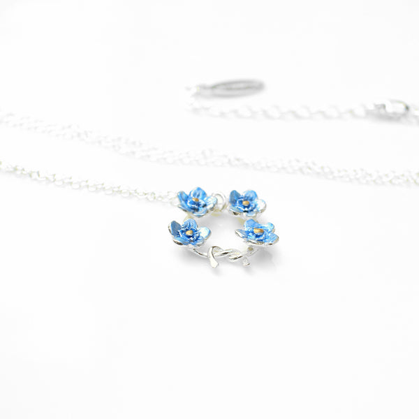 Forget Me Not Posey Necklace