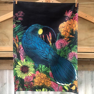 Huia - Tea Towel - Flox - Design Withdrawals