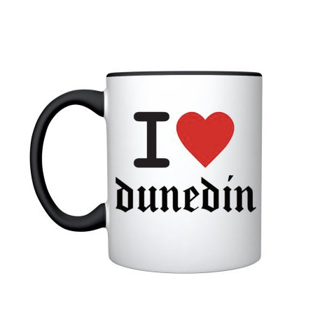 I Heart Dunedin Mug - Phizacklea - Design Withdrawals