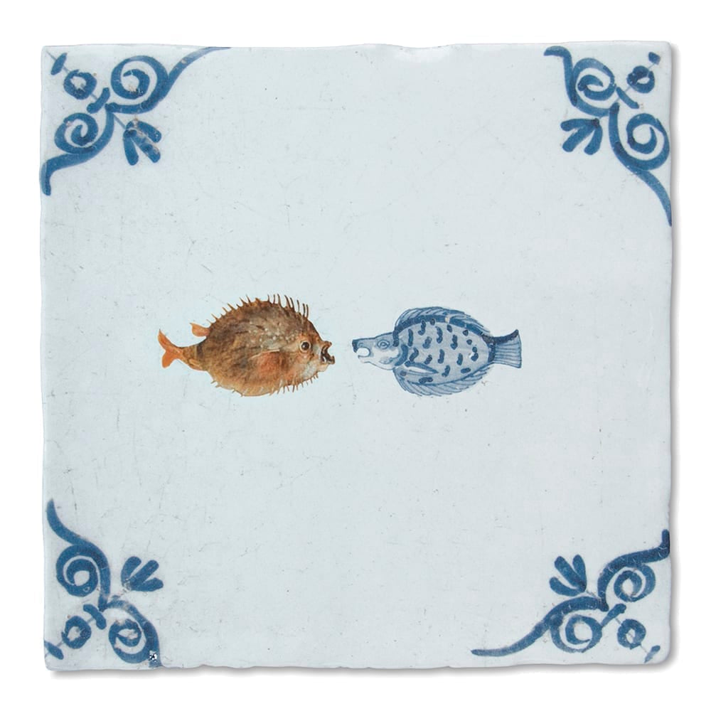 In the Fish Tank Ceramic Tile
