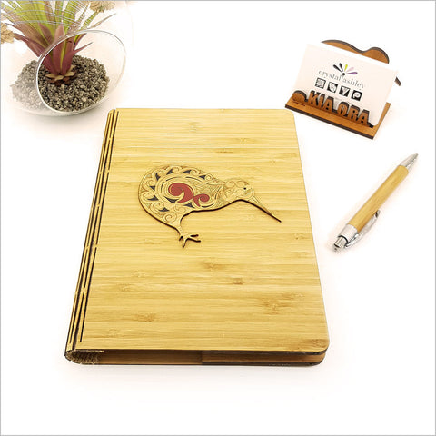 Bamboo Journal - Printed Kiwi