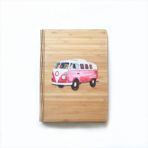 Bamboo Journal - Printed Combi