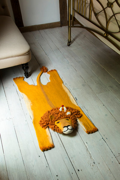Leopold the Lion Rug