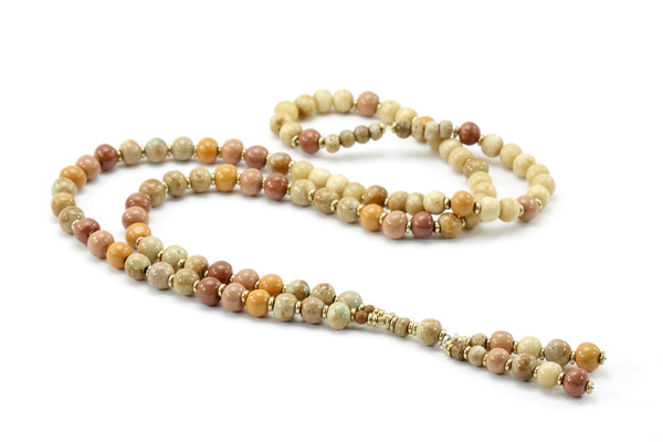 Madras Bead Necklace By Claycult
