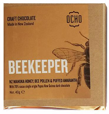 Beekeeper 40g Chocolate Bar - OCHO - Design Withdrawals