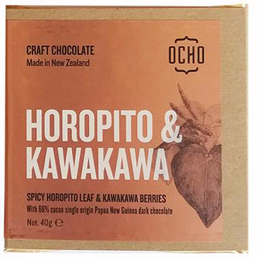 OCHO Horopito & Kawakawa 40g bars - OCHO - Design Withdrawals