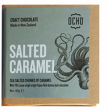 OCHO Salted Caramel 40g bars - OCHO - Design Withdrawals