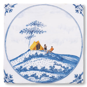 Outdoor Lovers Ceramic Tile