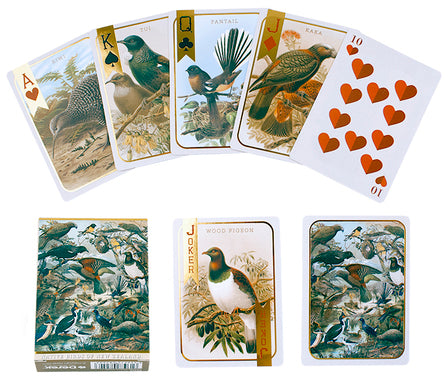 NZ Native Bird Playing Cards