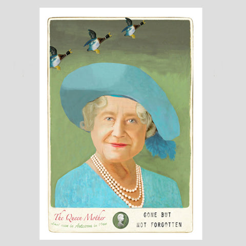 Queen Mum - Art Print