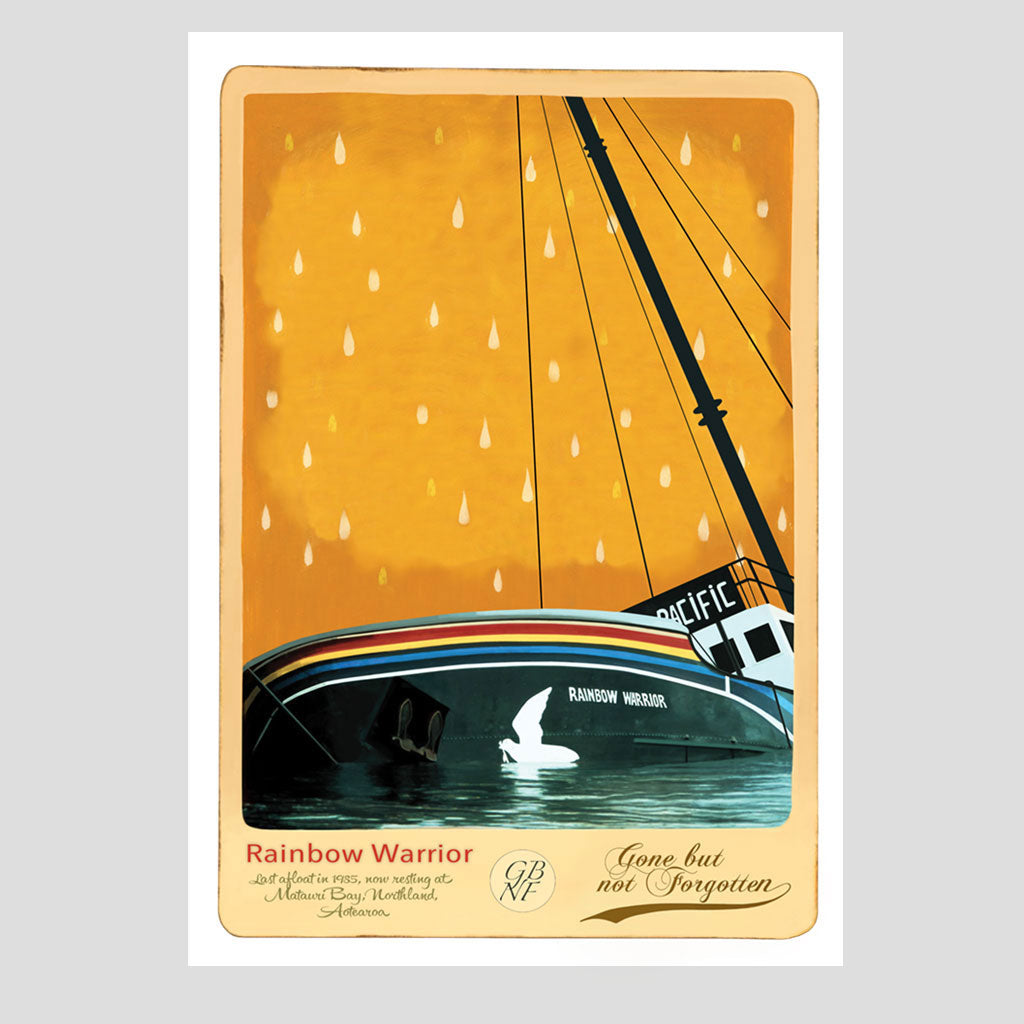 Rainbow Warrior - Art Print - Marika Jones - Design Withdrawals