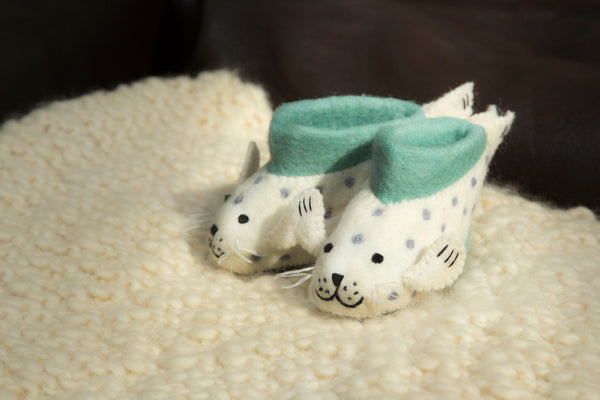 Sally Seal Children Slippers