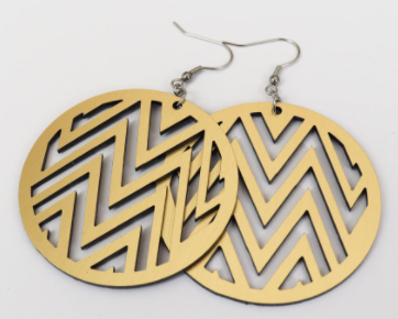 Gold Mana Earrings
