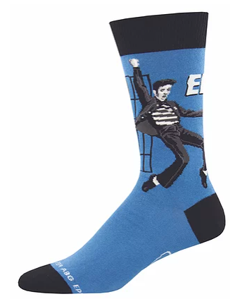Jailhouse Rock, Elvis Men's Socks