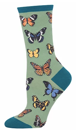 Majestic Butterflies Women's Socks