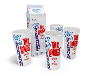 The Longest Drink In Town Cup Set