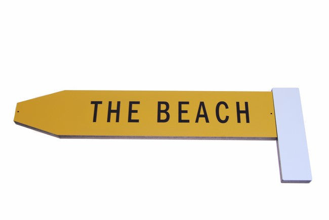 Give Me a Big Sign  - THE BEACH - Ian Blackwell - Design Withdrawals