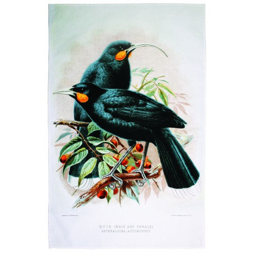 Huia Tea Towel - Design Withdrawals - Design Withdrawals