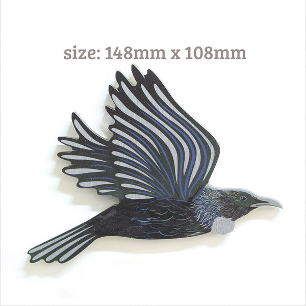 Tui Bird Wall Set