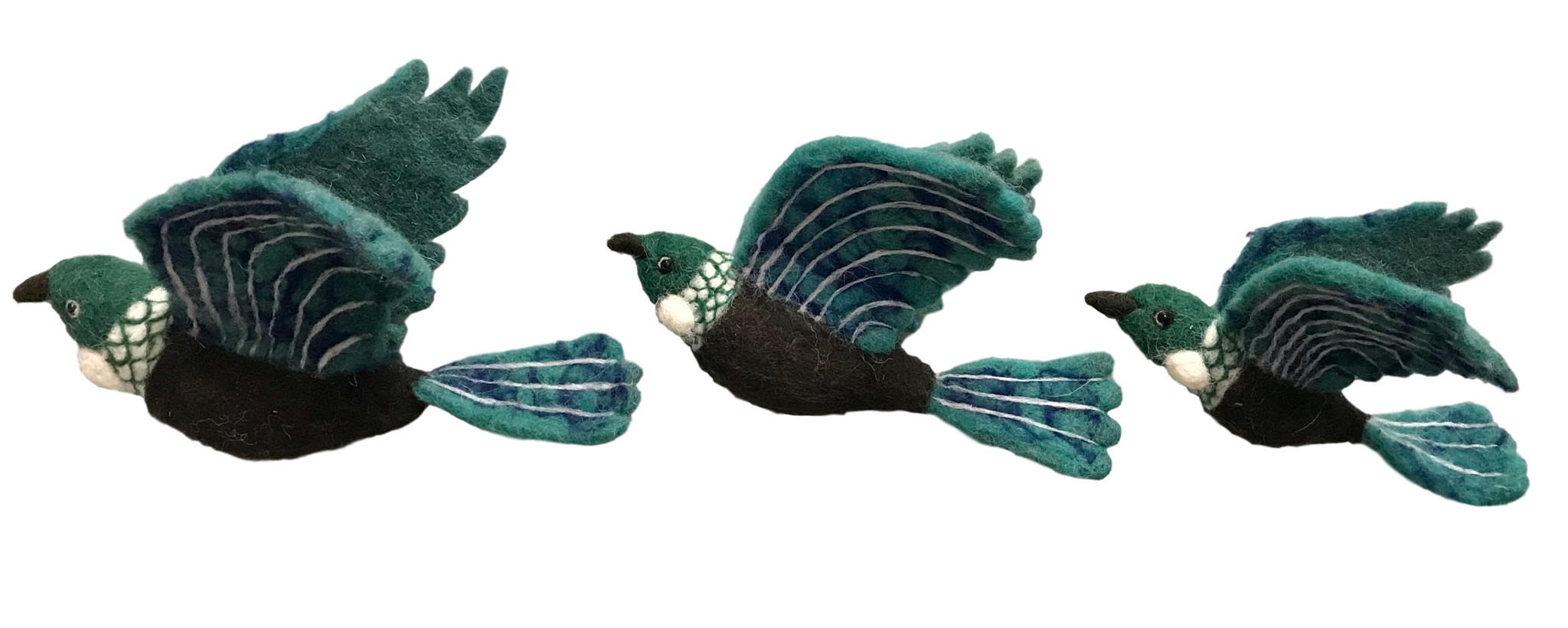 Flying Tui Wall Trio