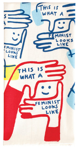 This is What a Feminist Looks Like - Tea Towel