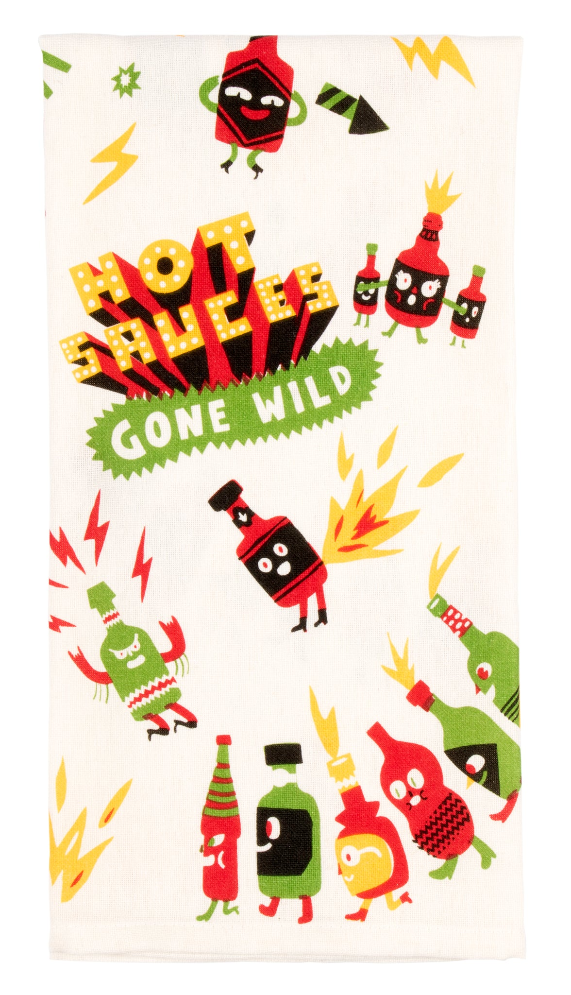 Hot Sauces Gone Wild - Tea Towel