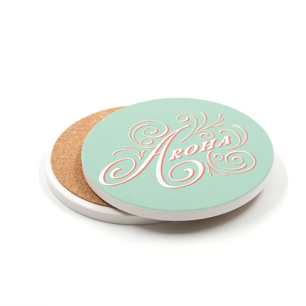 Aroha Ceramic Coaster