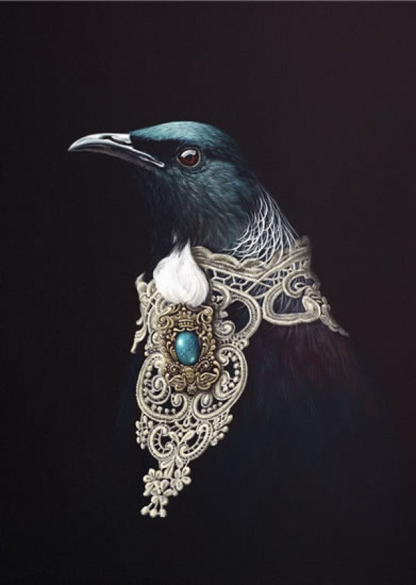 Adorned Orator - Jane Crisp - Art Print + Matting - Jane Crisp - Design Withdrawals