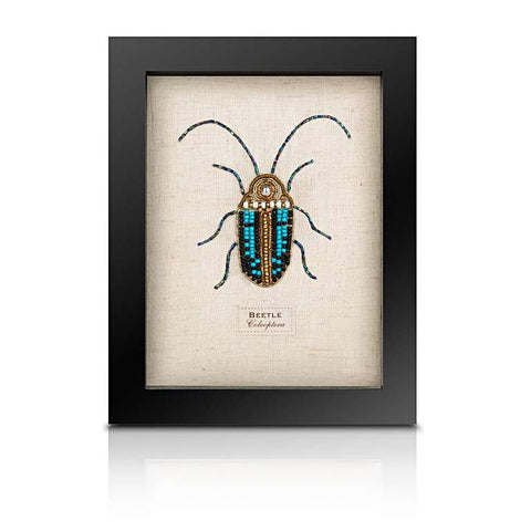 Beaded Scarab Beetle from the Cabinet of Curiosity