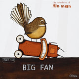 Big Fan - Tony Crib - Art Print + Matting - Tony Crib - Design Withdrawals