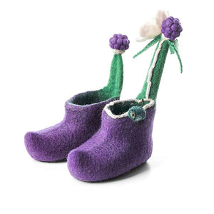 Blackberry Children Slippers