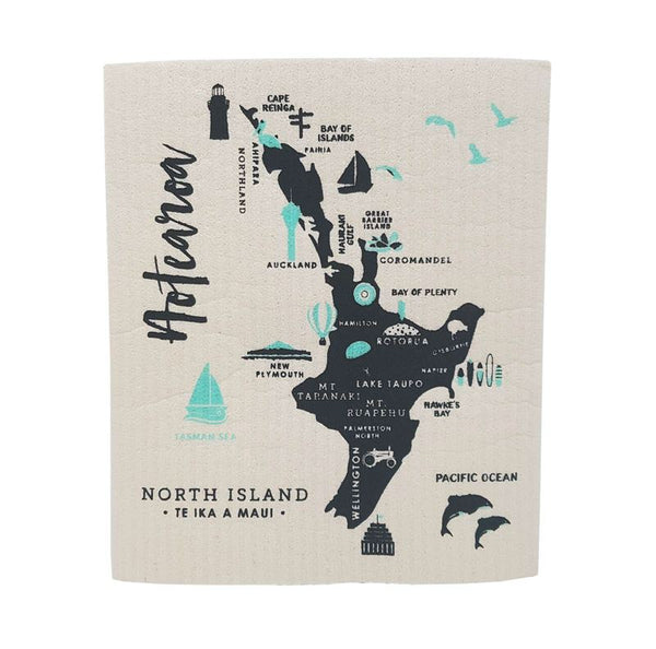 Swedish Dishcloth- North Island