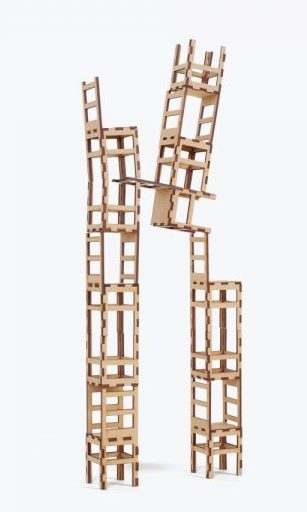 Las Sillas Stacking Chair Puzzle
