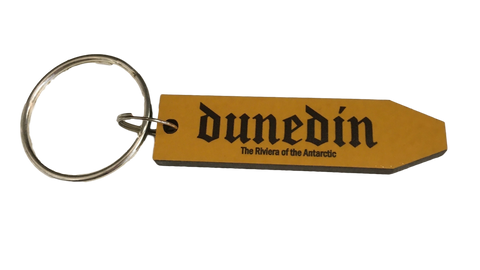 Dunedin Sign Post Key Ring