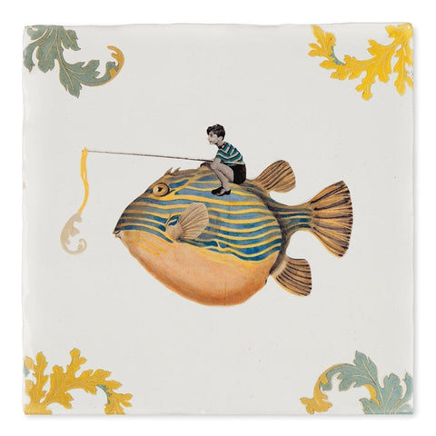 Catch of the Day Ceramic Tile