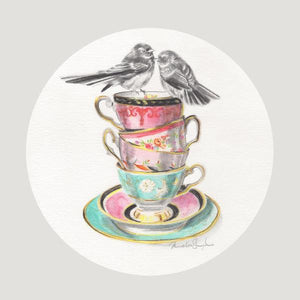 Fantail Tower - Art Print - Melissa Sharplin - Design Withdrawals