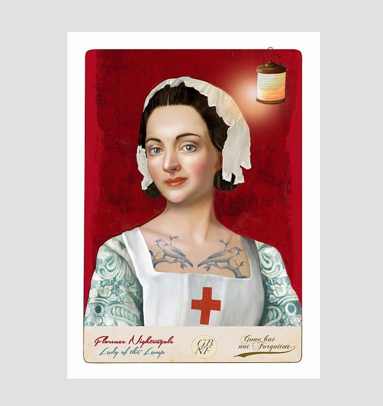 Florence Nightingale - Art Print
