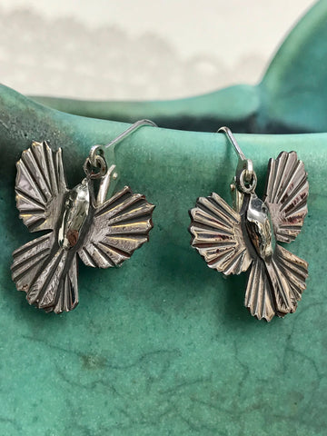 Piwakawaka (Fantail) Earrings