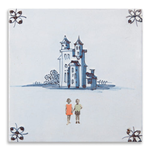 And They Lived Happily Ever After Ceramic Tile