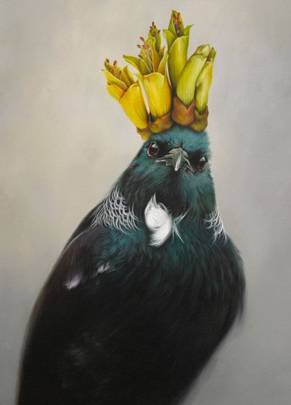 He Of The Kowhai - Jane Crisp - Art Print + Matting
