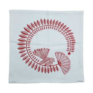 Fantail Print Cushion Cover