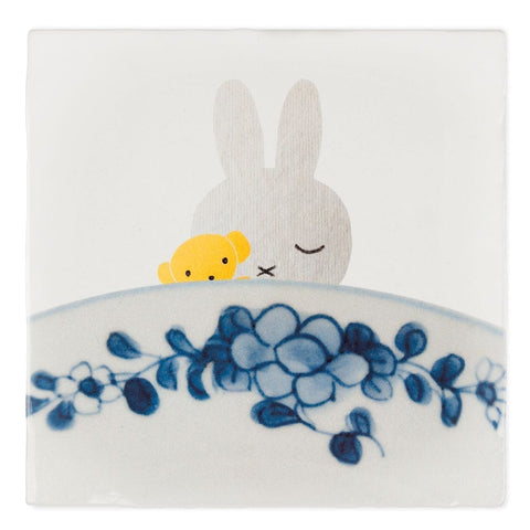 Miffy goes to bed Ceramic Tile