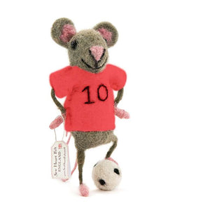 Soccer/Football Red Shirt Mouse