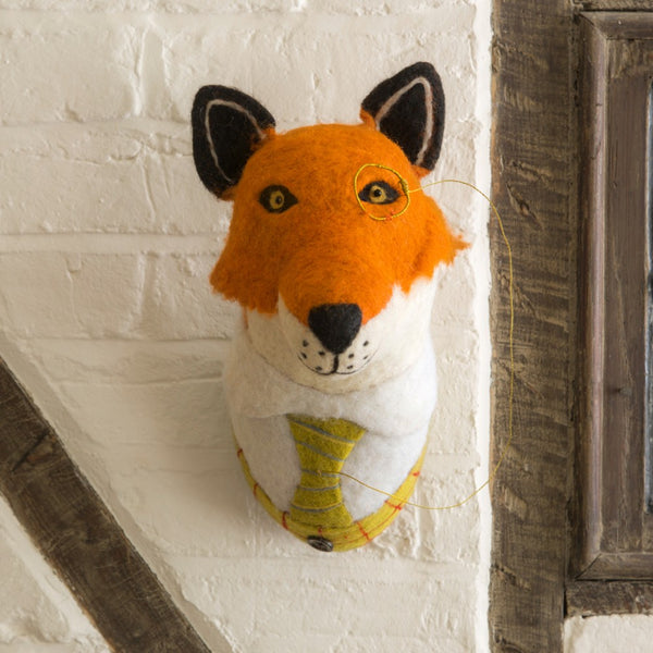 Sir Finlay Fox Head - Design Withdrawals - Design Withdrawals