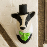 Brigadier Billie the Badger Head - Design Withdrawals - Design Withdrawals