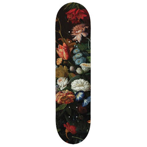Vintage Flowers - Skate Deck - Design Withdrawals - Design Withdrawals