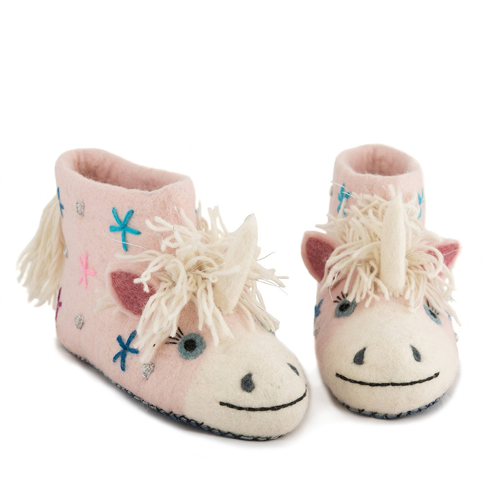 Céleste the Unicorn  Adult Slippers - Design Withdrawals - Design Withdrawals