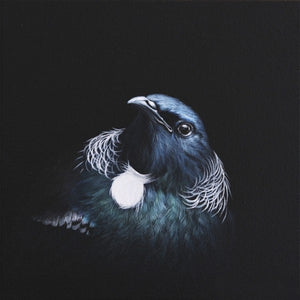 Tui Portrait 2 - Jane Crisp - Art Print + Matting - Jane Crisp - Design Withdrawals