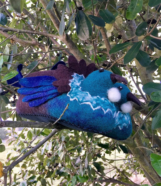 Tui Hand Felted Woollen Slippers - Phizacklea - Design Withdrawals