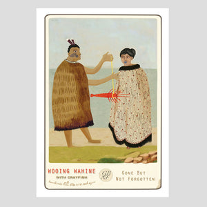 Wooing Wahine - Art Print - Marika Jones - Design Withdrawals
